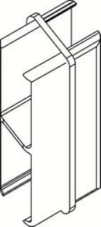 OSMO ALU-CLADDING  RHOMBUS Längsverbinder VE10