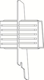 OSMO ALU-CLADDING  CONO Längsverbinder VE10
