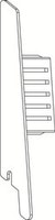 OSMO ALU-CLADDING CONO Endkappe Links VE10
