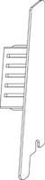 OSMO ALU-CLADDING CONO Endkappe Rechts VE10