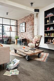 MeisterWerke Designboden .comfort DB 600 S Terrazzo dunkel 6858-Landhausdiele