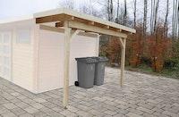 Wolff Finnhaus Seitendach A/B/C/D für Gartenhäuser mit Pult- oder Flachdach