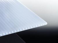 T&J TEJEPOLY POLYCLEAR Stegdreifachplatte Weiß-Opal