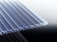 T&J TEJEPOLY THERMO X-Struktur Stegfünffachplatte Glasklar