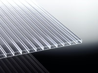 T&J TEJEACRYL STABILO Stegdoppelplatte Glasklar