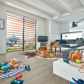 MeisteWerke Designboden Edition M5 (S) RIGID Eiche Beach House 7326-Holznachbildung