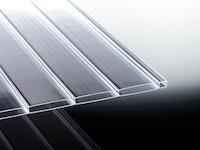 T&J TEJEACRYL VERTICA Stegdoppelplatte Glasklar