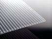 T&J TEJEACRYL STABILO Stegdoppelplatte IC-Struktur Glasklar