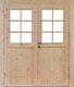 Wolff Finnhaus Doppel-Tür Hero XL 28 / 34 / 40 mm isolierverglast