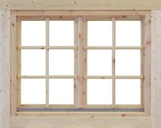 Wolff Finnhaus Doppel-Fenster Alina 28/34/40 mm