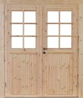 Wolff Finnhaus Doppel-Tür Hero 28 / 34 / 40 mm isolierverglast