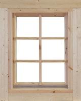 Wolff Finnhaus Einzel-Fenster Marit 28/34/40/44/58/70 isolierverglast