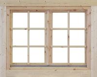 Wolff Finnhaus Doppel-Fenster Alina 44/58/70 mm isolierverglast