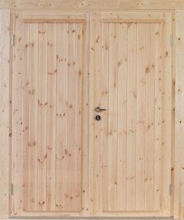 Wolff Finnhaus Doppel-Tür Knut 58 / 70 mm