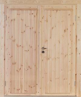 Wolff Finnhaus Doppel-Tür Knut XL 58 / 70 mm