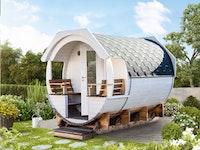 Wolff Finnhaus Premium Saunafass Finja 2