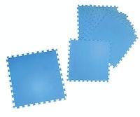 Poolmatte, EVA, 8-teilig 50x50x0,4cm, 8er Pack