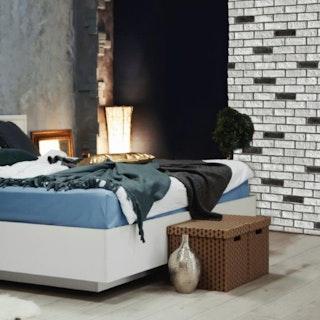 DE RYCK Steinriemchen City Brick B20 Schwarz-Weiß