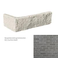 DE RYCK Eckriemchen City Brick B281 Grau