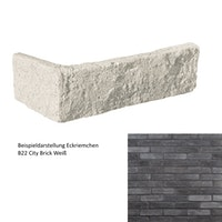 DE RYCK Eckriemchen City Brick B291 Anthrazit