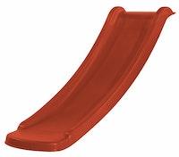 Weka Rutsche für Kinderspielhaus Lotti, 120 cm, 60 cm Podesthöhe, rot