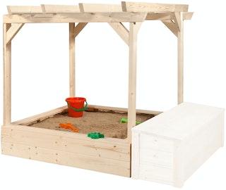 Weka Tabaluga Pergola für Kinderspielhaus Drachenhöhle (inkl. Sandkasten)