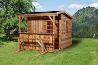 Weka Gartenhaus 820 A - 20 mm