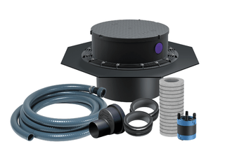 Kessel WU-Einbauset für Bauunternehmer zur Verwendung bei KESSEL-Hebeanlagen