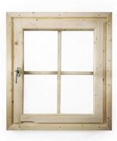 Karibu Dreh-/Kippfenster für 38/40 mm Wandstärken