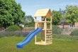 Akubi Kinderspielturm Lotti inkl. Kletterwand und Rutsche