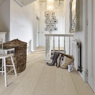 HANDMUSTER MeisterWerke Lindura-Holzboden HD 400 Eiche natur arcticweiß 8735-mattlackiert