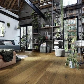 MeisterWerke Lindura-Holzboden HD 400 Eiche authentic Dry Wood 8748-naturgeölt