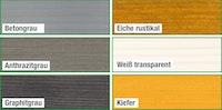 Wolff Finnhaus 3-facher, werkseitiger Außenanstrich für Grillkota 6.7