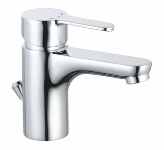 Waschtischarmatur DIZIANI ECO, Kaltstart, Chrom