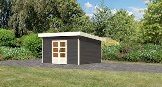 Karibu Woodfeeling Gartenhaus Northeim 5 - 38 mm