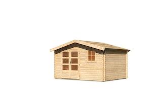 Karibu Woodfeeling Gartenhaus Blockholm 5 - 28 mm
