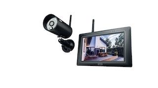 """Komplettset aus Full HD 1080p Funk-Außenkamera (IP66) und 7"""" Monitor PPDF16000"""