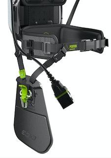 EGO Power Beinschutz mit Freischneiderbefestigung AHP1500 für AFH1500