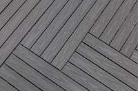 FUN-Gard Terrassenfliesen Ultrashield Multigrey Dark