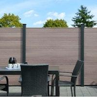 OSMO ALU-Fence JUEL Grundelement 180x179 cm