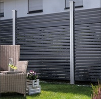 OSMO ALU-Fence RHOMBUS Grundelement 180x179 cm