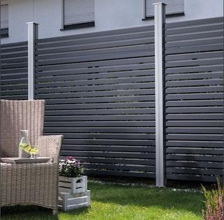 OSMO ALU-Fence RHOMBUS Erweiterungsset 180x 45 cm
