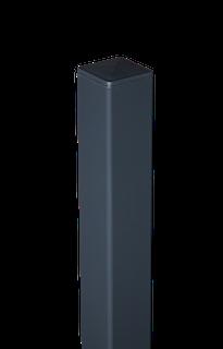 GroJa Aluminium-Pfosten 6x6 inkl. Kappe