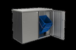 Biohort Gleichschließendes Zylinderschloss für Mülltonnenbox Alex