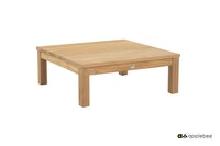 apple bee Loungetisch 83 x 83 cm FREJUS Teak Natural