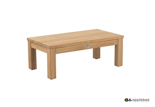apple bee Loungetisch 83 x 45 cm FREJUS Teak Natural