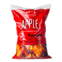 Traeger Hartholz Pellets Apfel, 9 kg Beutel