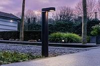 Lightpro Gartenleuchte Barite DL Stand Downlight H 495 mm