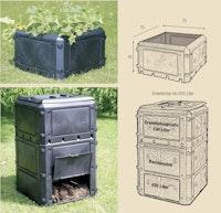 KHW Aufbauset 230 Liter ohne Deckel (für Bio-Quick Basismodell 420 L)