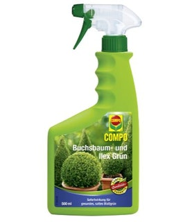 COMPO Buchsbaum- und Ilex-Grün 500 ml